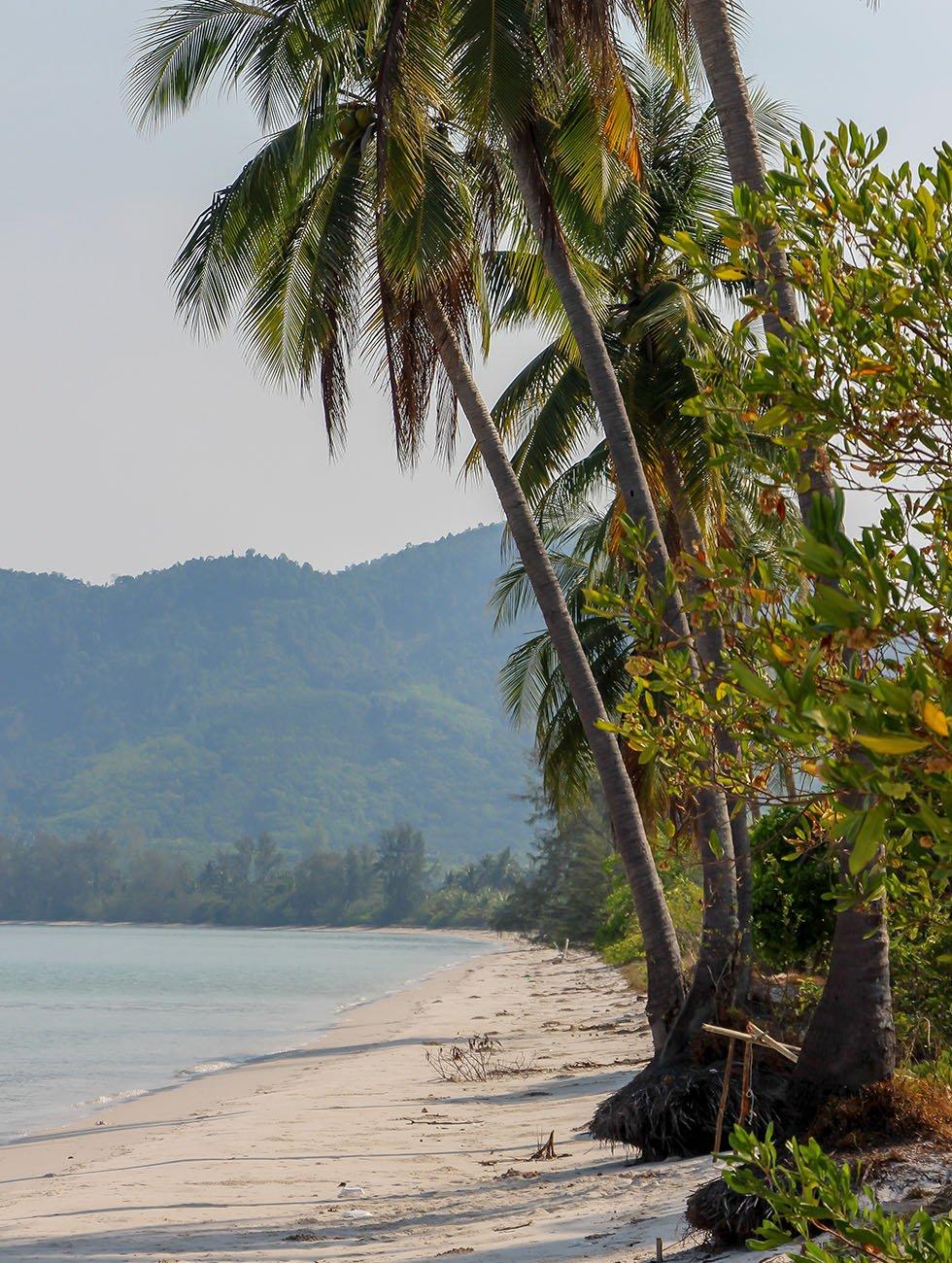 Koh Yao Yai lege stranden