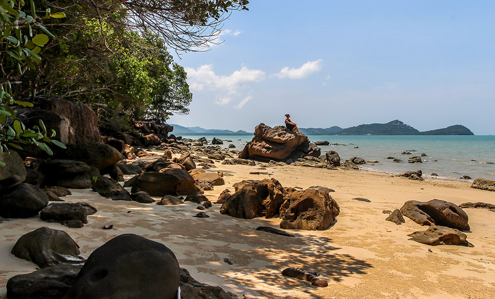 Koh Yao Yai stranden