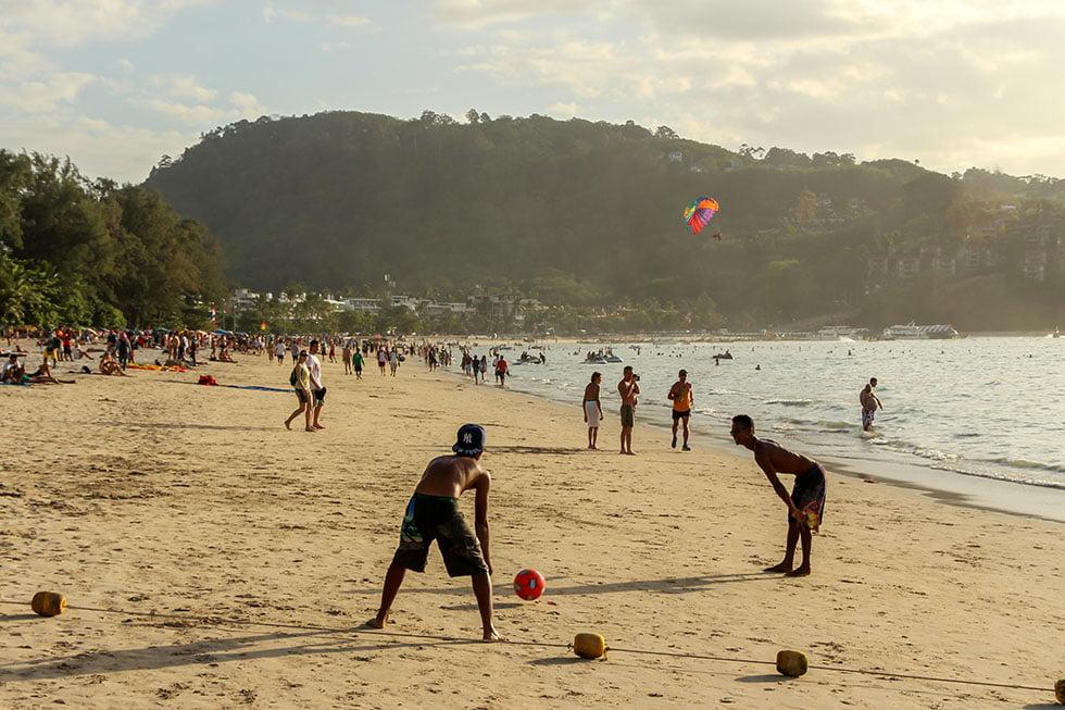 Patong Beach massa