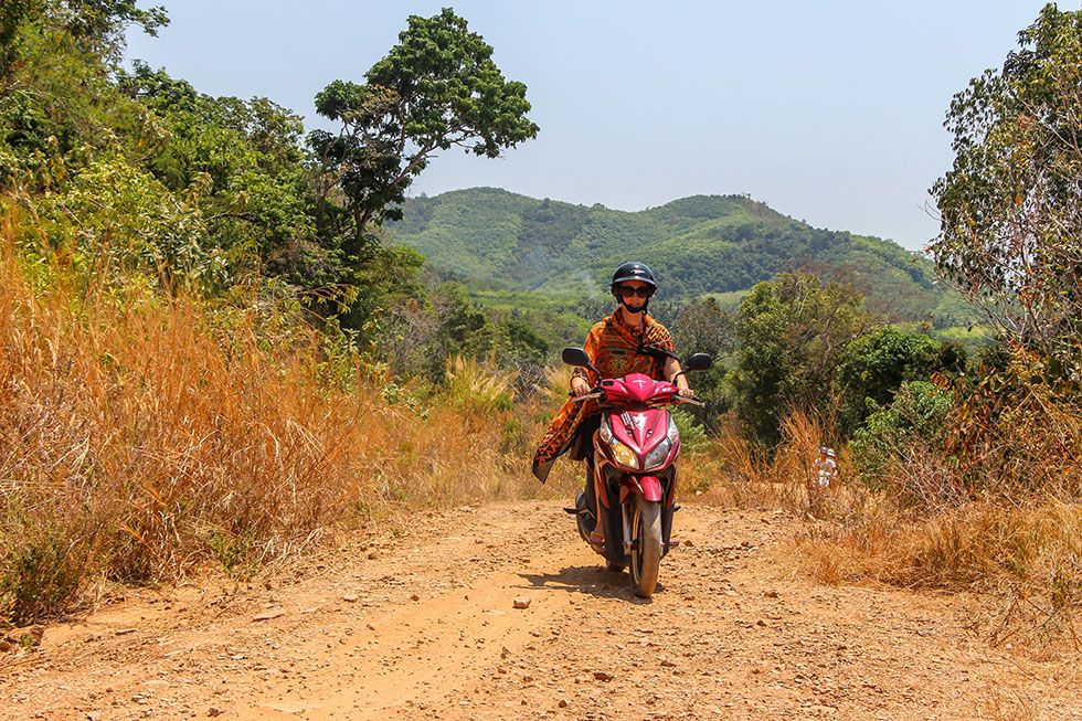 Scootertocht off road Koh Yao Yai