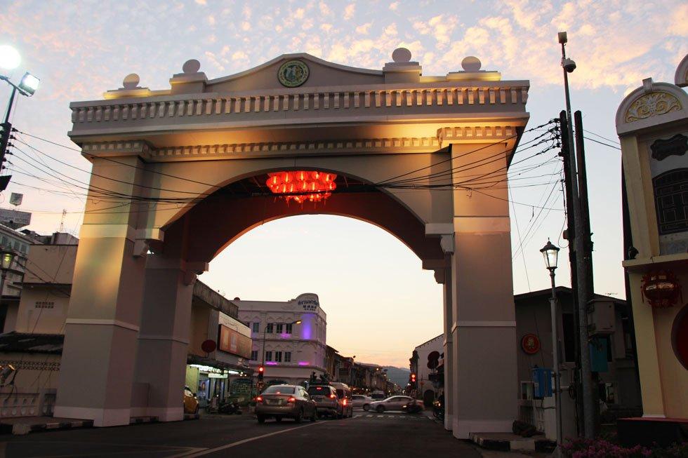 Phuket Old Town - Phuket bezienswaardigheden