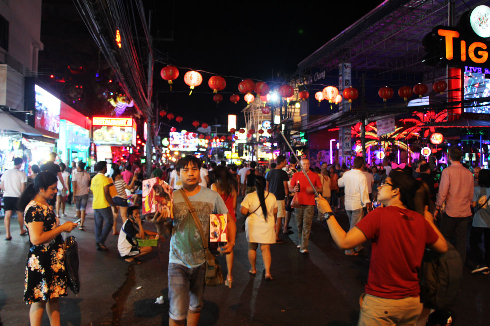 Patong Bangla Road - Phuket bezienswaardigheden