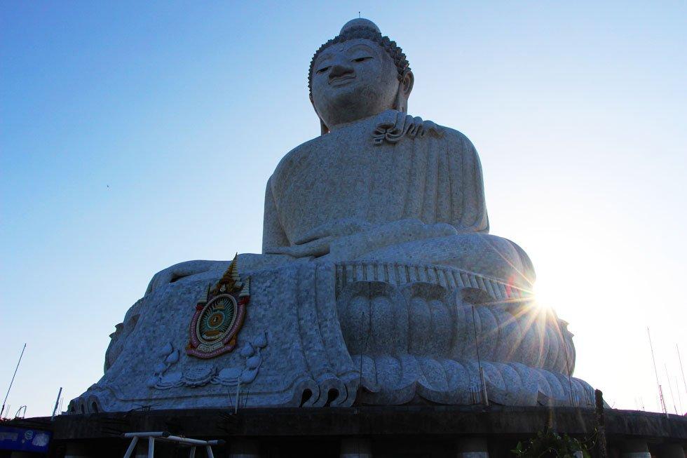 Witte Boeddha - Phuket bezienswaardigheden