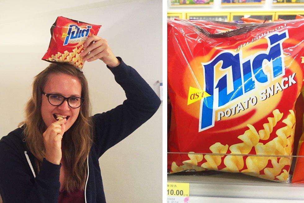 Potae Potato Snack - 7-Eleven Chips