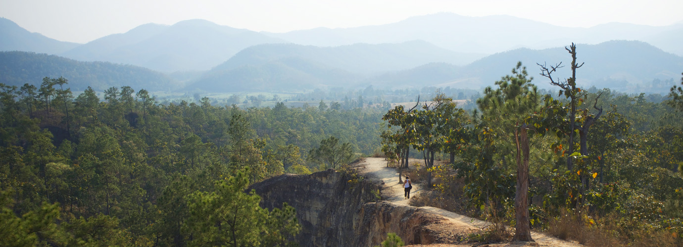 Pai Canyon in Pai