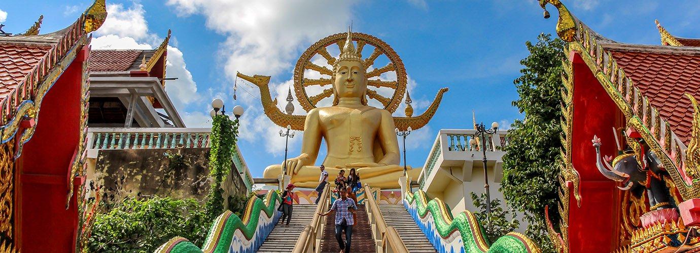 De Big Boeddha op Koh Samui