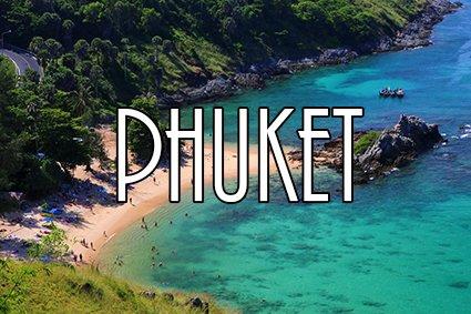 Reis verder naar Phuket