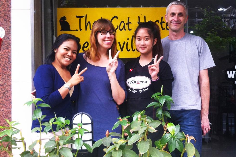 Thai Cat Hostel in Bangkok