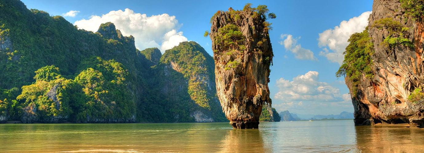James Bond Island in de Phang Nga Bay