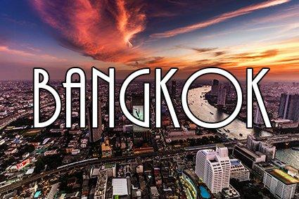 Reis verder naar Bangkok