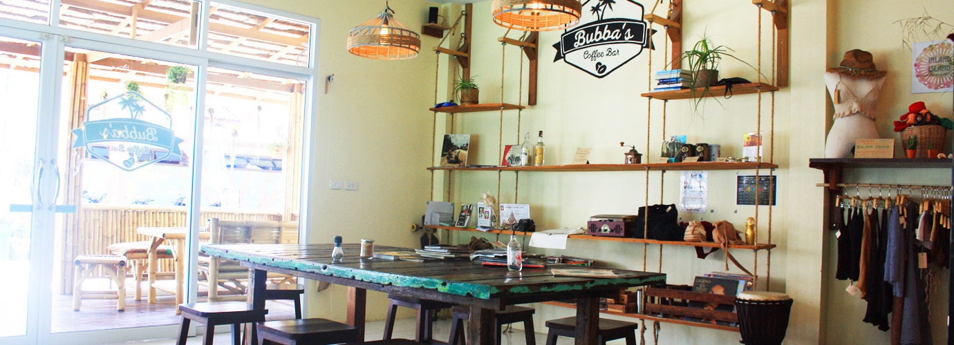 Bubba's Coffee Bar op Koh Phangan