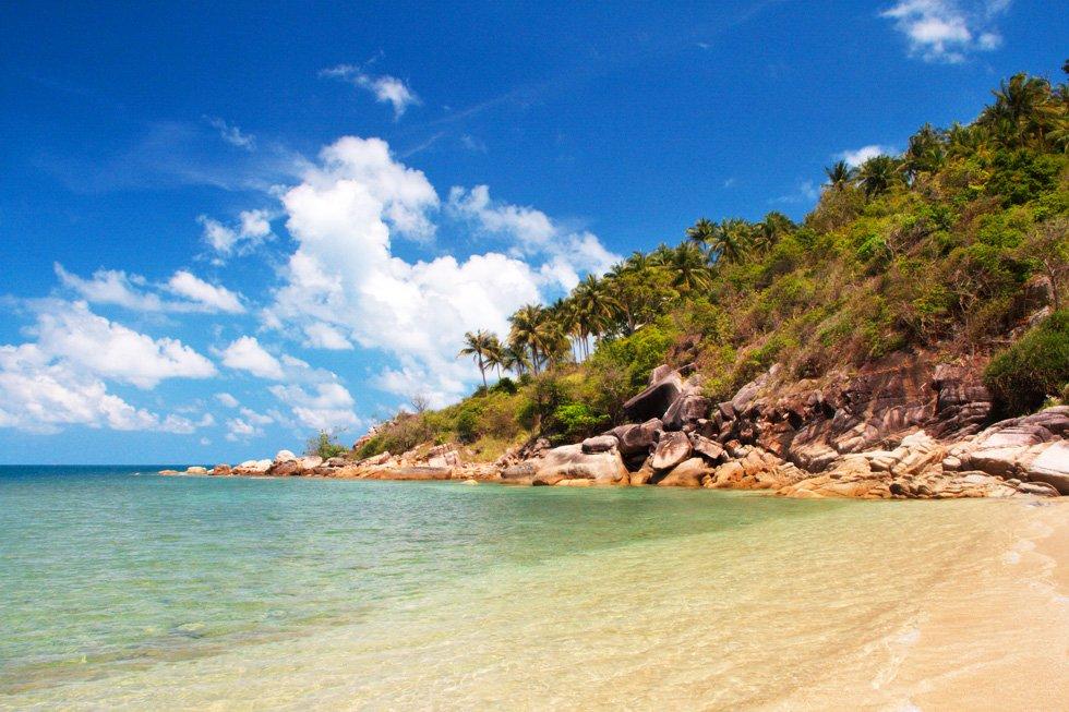 Bottle Beach op Koh Phangan