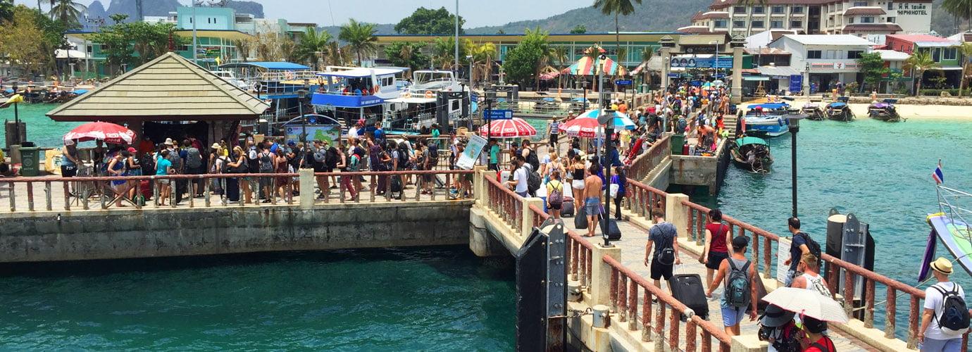 Ton Sai Pier op Koh Phi Phi