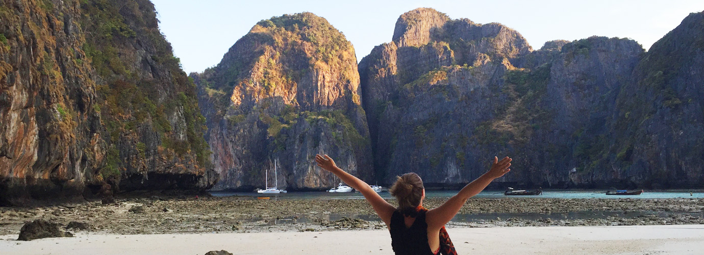 Maya Bay op Koh Phi Phi
