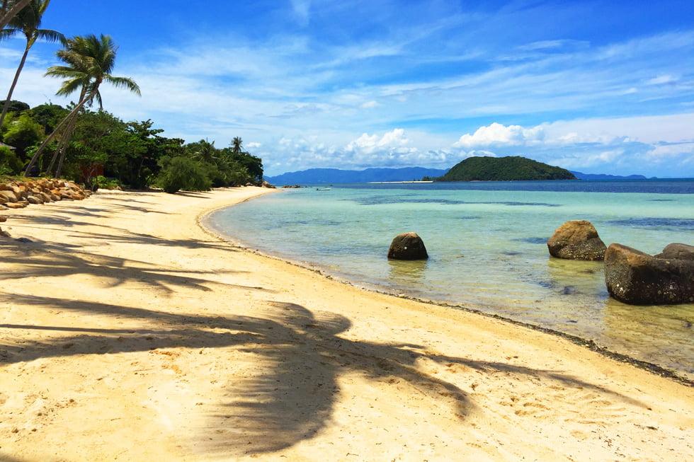 Plaay Laem Beach op Koh Phangan