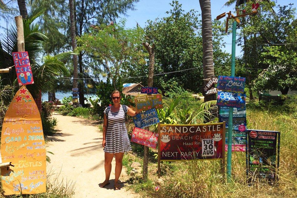 Secret Beach op Koh Phangan