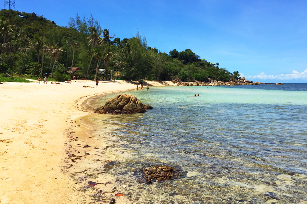 Secret Beach op Koh Phangan
