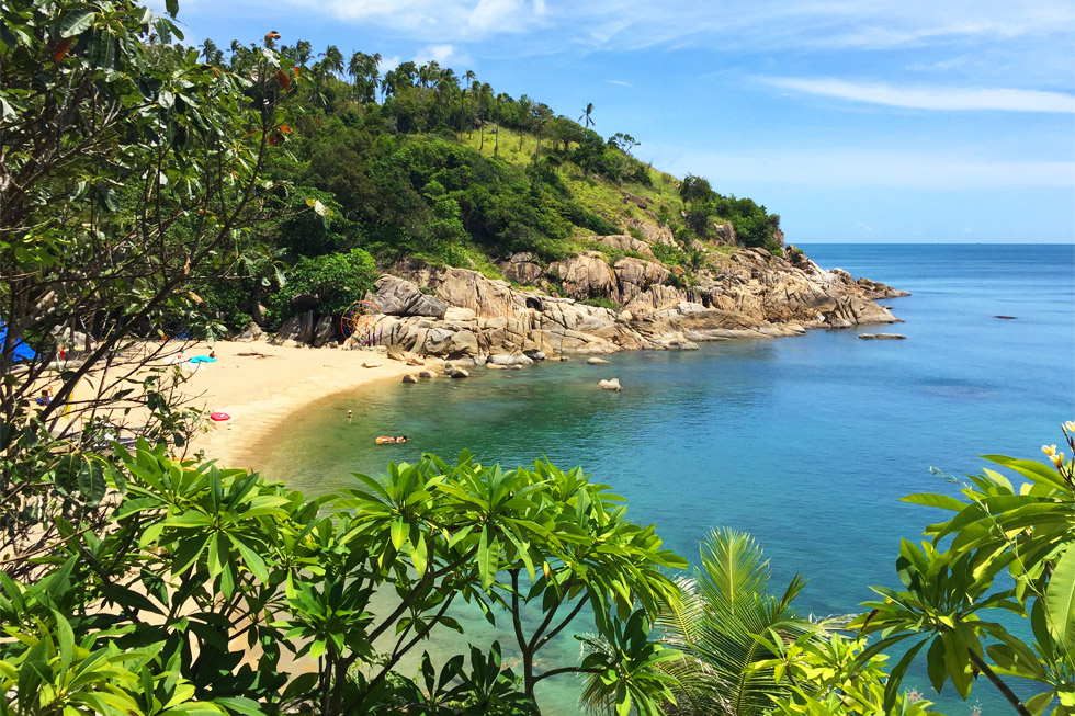 Why Nam Beach op Koh Phangan