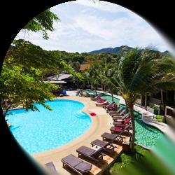 Cocohut Beach Resort & Spa op Koh Phangan