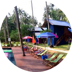 KLK Hostel op Koh Chang