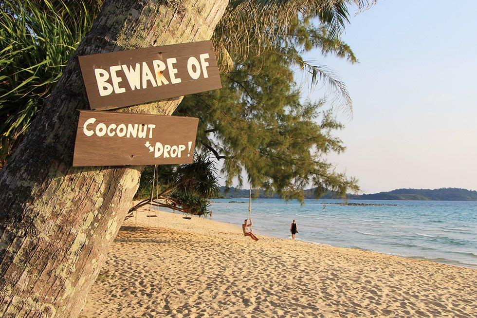 Paradise Beach op Koh Kood