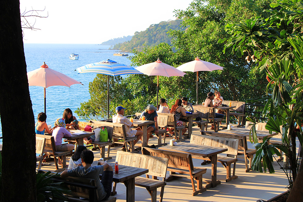 Good View Cafe op Koh Kood