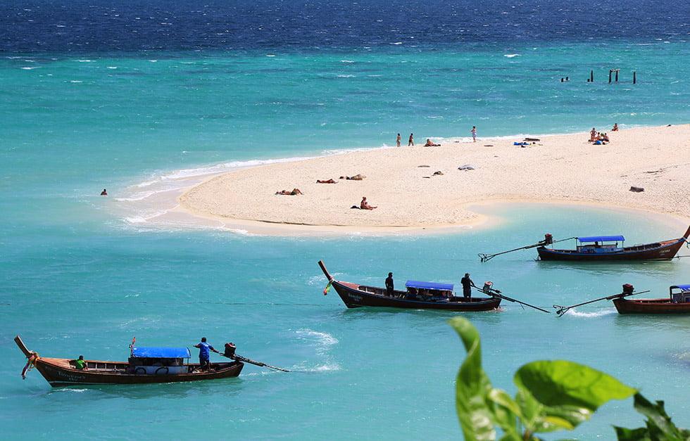 mooie route thailand met koh lipe