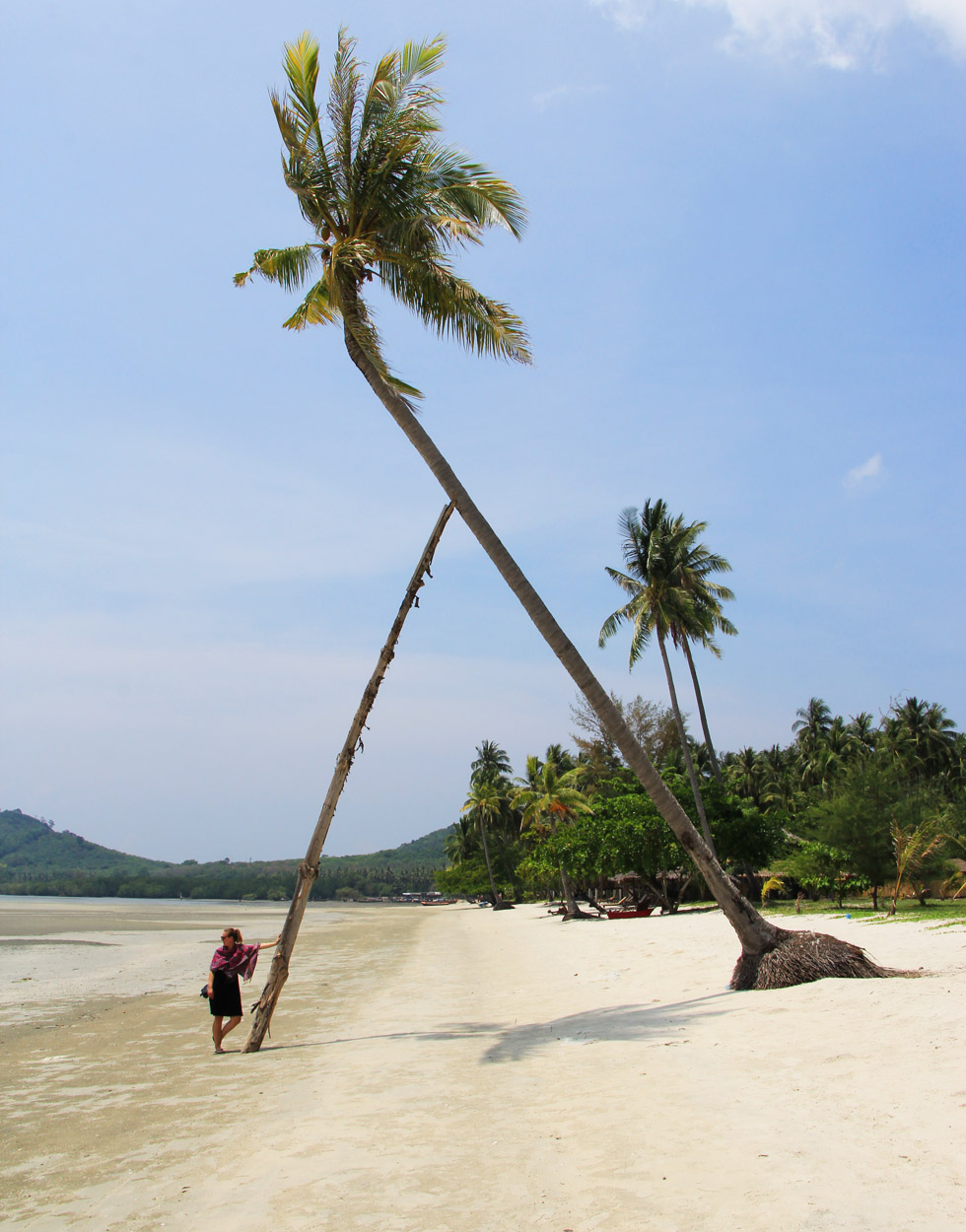 Chillen op Hua Laem Prao Beach