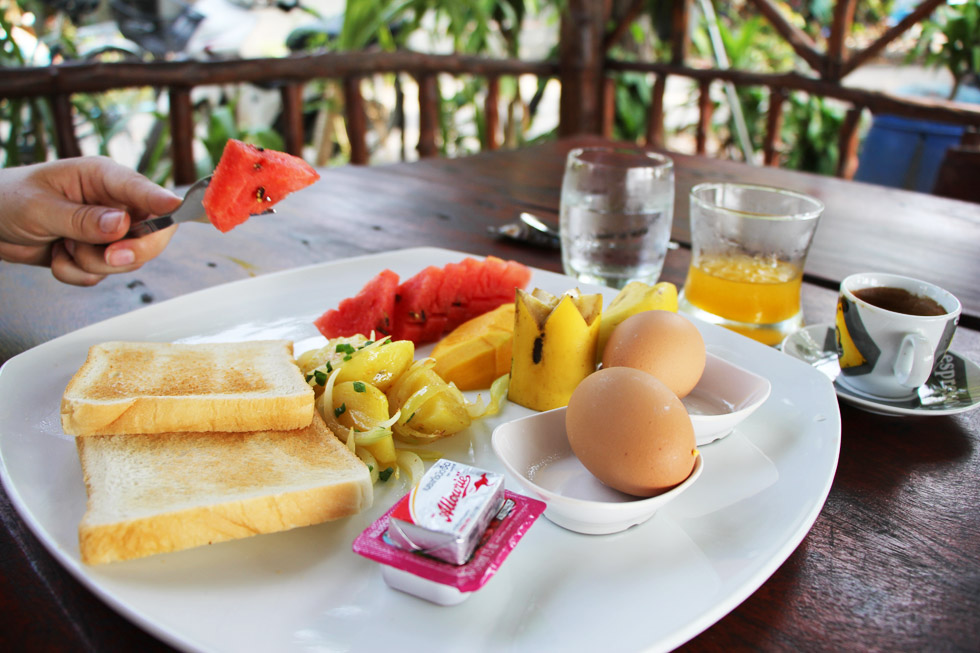 Lekker ontbijten bij Sugar's Coffee & Restaurant