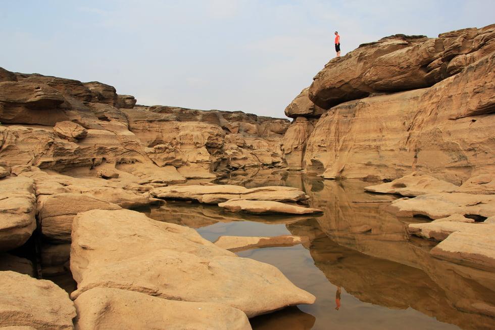 Uitzicht in Sam Phan Bok