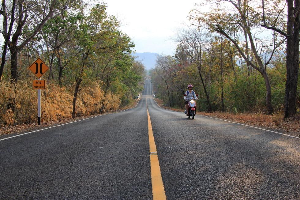 Onderweg naar Sam Phan Bok