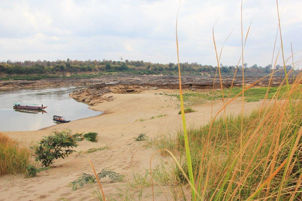 Zandduin bij Sam Phan Bok