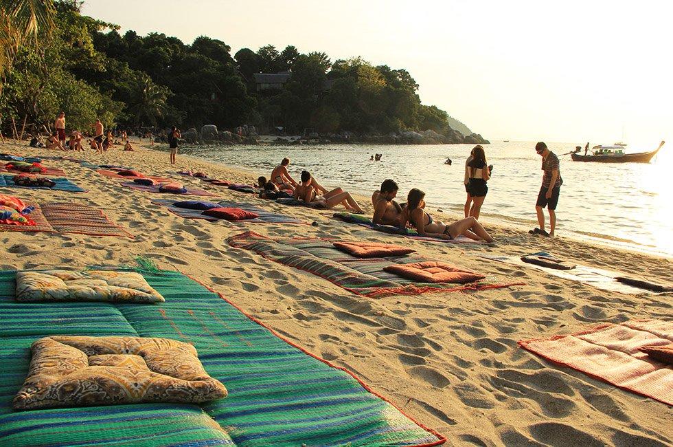 Sunset Beach op Koh Lipe