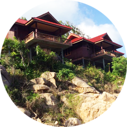 Aow Leuk Grand Hill op Koh Tao