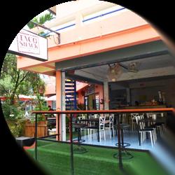Taco Shack Hostel op Koh Tao
