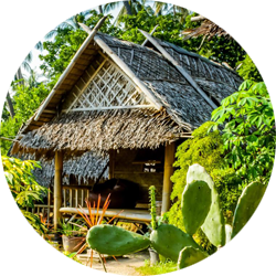 The Earth House op Koh Tao