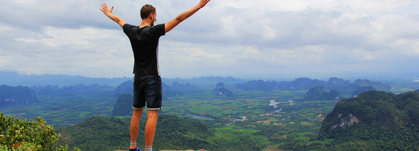 Viewpoint Tab Kak Hang Nak Hill Nature Trail in Krabi
