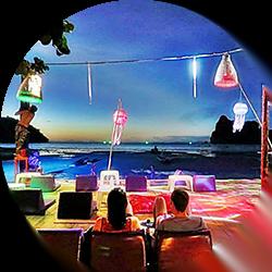 Blanco Beach Bar op Koh Phi Phi