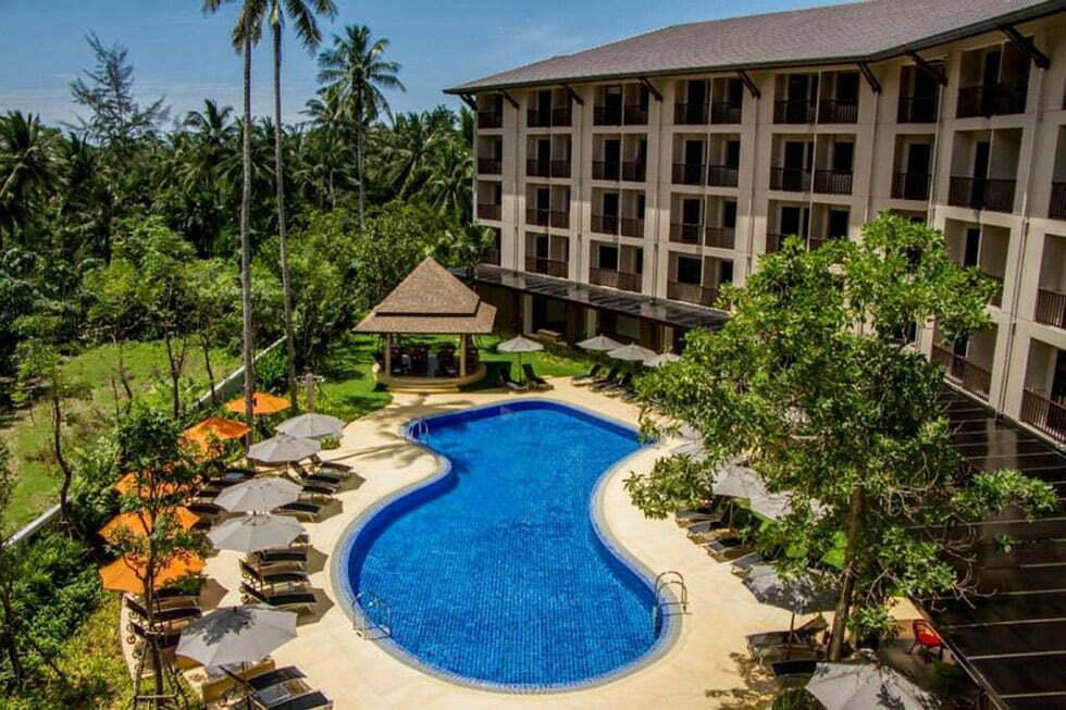 Hotel Zwembad 50 euro Krabi