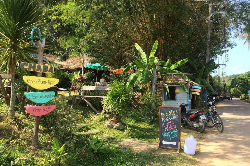 Chaba Restaurant op Koh Yao Noi