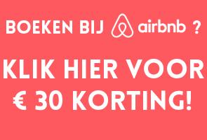 Klik hier voor korting bij Airbnb!