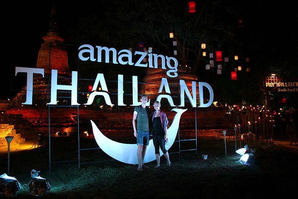 Amazing Thailand - Loy Krathong in Sukhothai