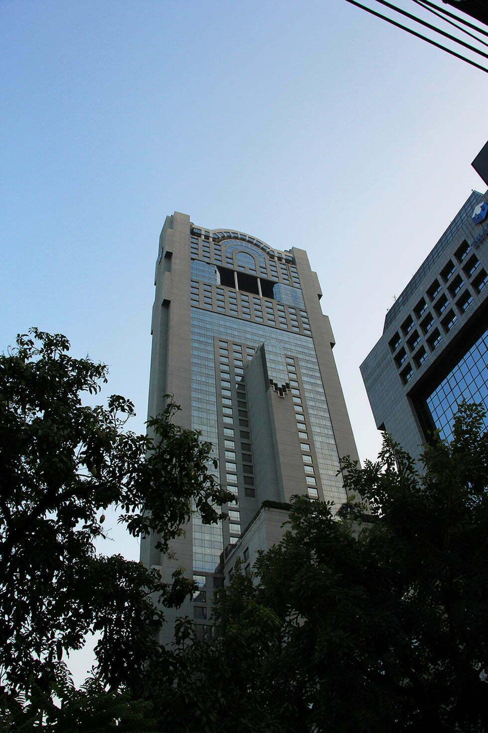 Banyan Tree Hotel in Bangkok