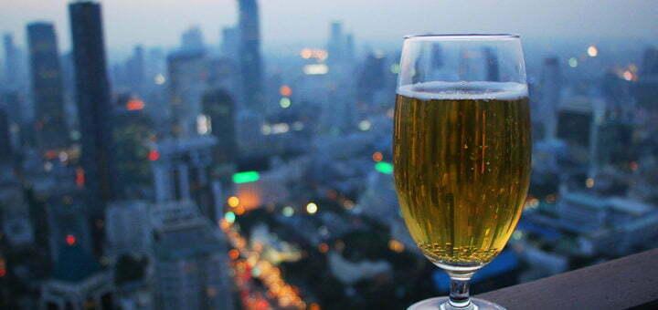 Een biertje met een uitzicht - Moon Bar