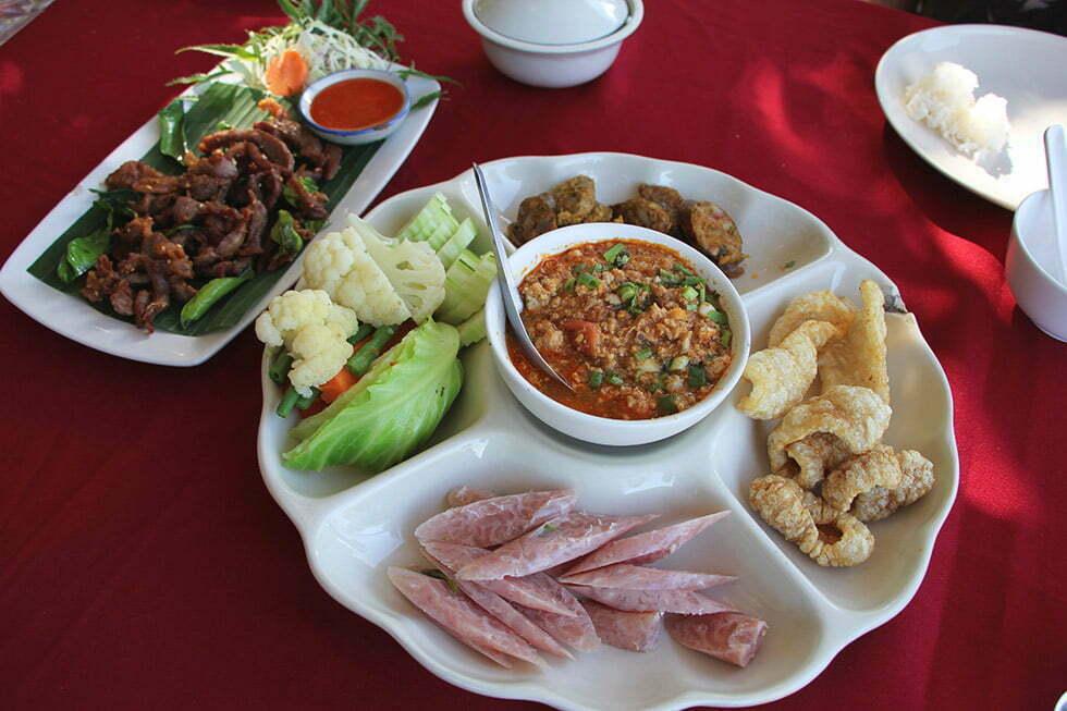 Lekker eten bij Sanae Doi Luang