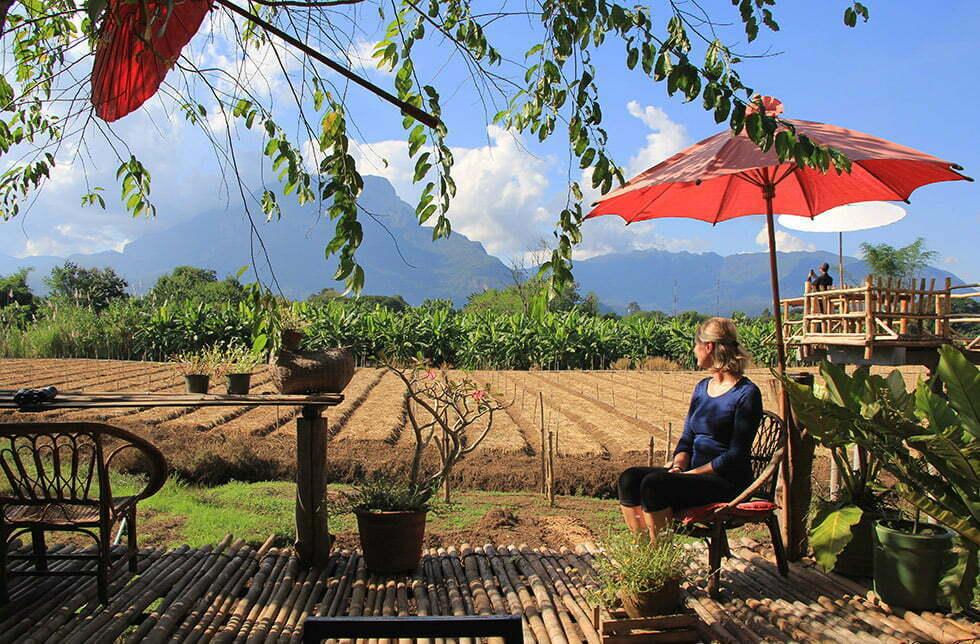 DoiLuang CrayFish Farm in Chiang Dao