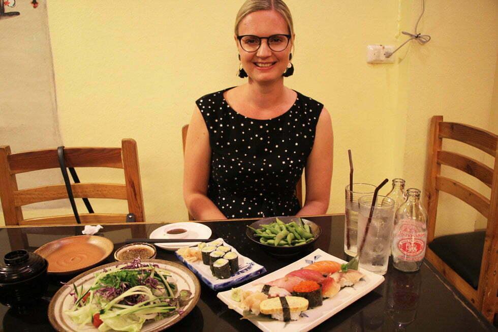 Sushi Umai in Chiang Mai