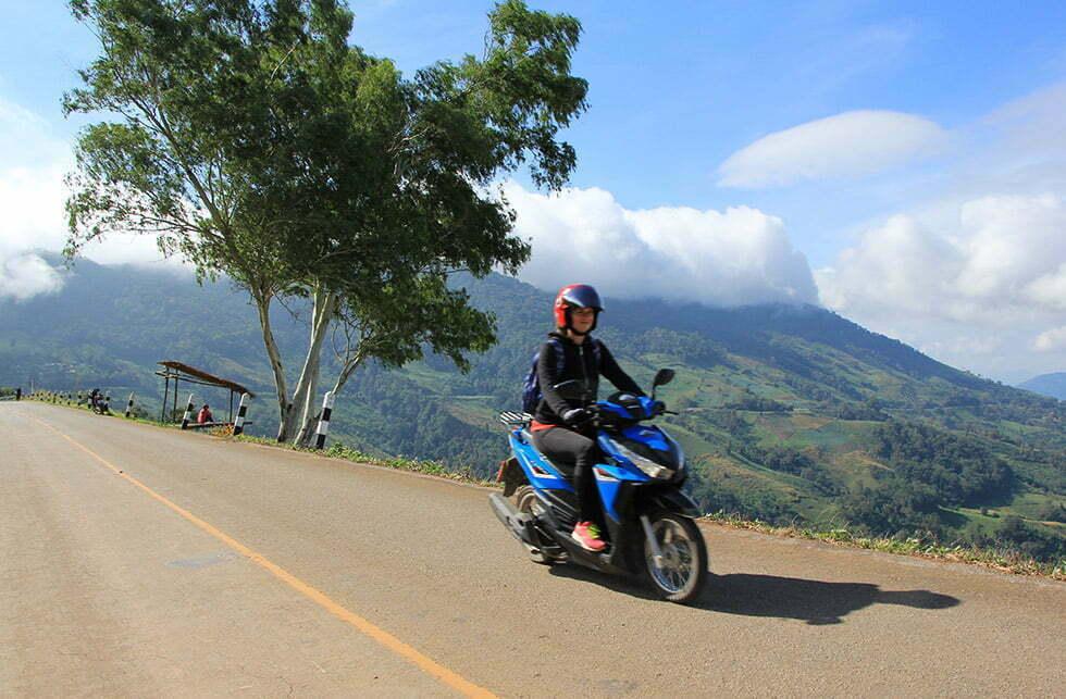 Phu Chi Fah ligt in de provincie Chiang Rai