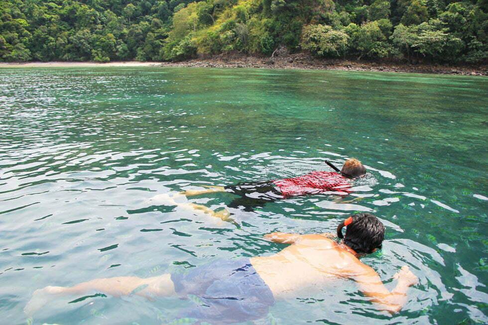 Snorkelen bij Koh Kai