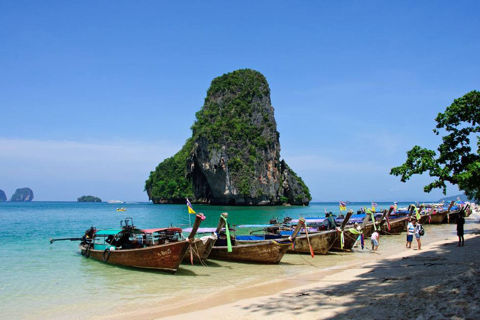 Phra Nang Beach op Railay